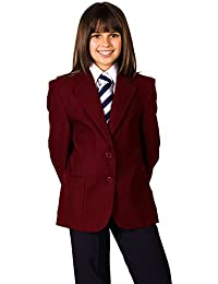 Chica Uniforme Escolar Blazers Revestimiento de teflón, 100% poliéster repelente al agua perchero de pared de Blazer para hombre