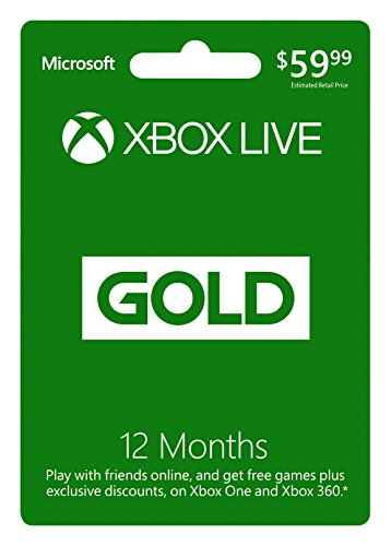 Microsoft - Xbox Live 12 Gold Card - Pan Euro