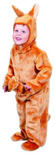 (Foxxeo 10207 | Känguru Kostüm für Kinder Kängurukostüm Tier Kinderkostüm Tierkostüm Gr. 98, Größe:98)