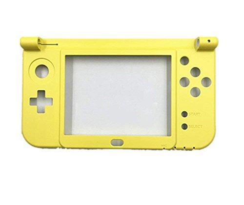 New Ersatz Gehäuse Scharnier unten mittig Rahmen Cover Shell Case für Nintendo 3DS XL LL 2015, Dieser ist-Gelb (3ds Xl Cover)