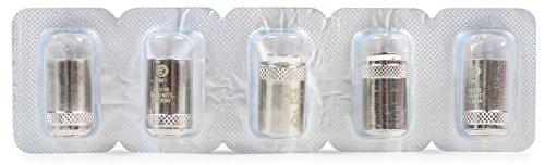 Joyetech Cabezas Atomizadoras BF Para Cubis 5 Piezes BF SS316 en 0.6 Ohm la Inhalación Directa Sin Tabaco Sin Nicotina