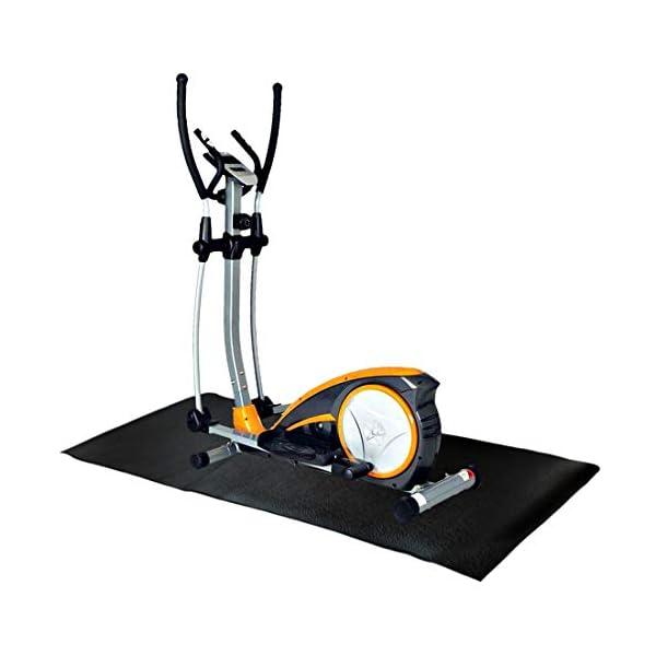Fitness Attrezzatura ed Esercizio Tappetino Antiscivolo Antiurto Protezione del Pavimento Tappetino per Tapis roulant… 4 spesavip