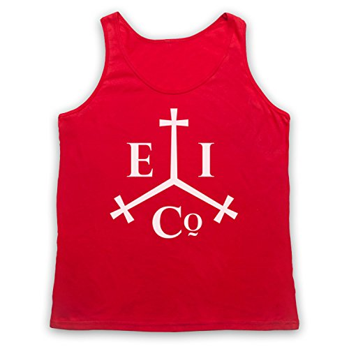 Inspiriert durch Pirates Of The Carribean East India Company Inoffiziell Tank-Top Weste Rot