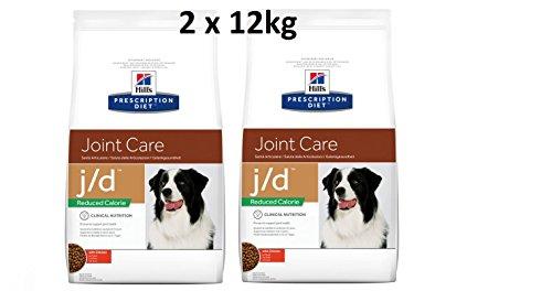 Hills prescr iption Diet J/D 2X 12kg Reduced Calorie Joint Care