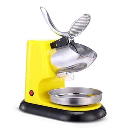 LXZZJ Elektrische Eiscrusher, Rasierapparate, Schneekegelmaschine für EIS, kalte Getränke, Obstdesserts und Cocktails für den häuslichen und gewerblichen Gebrauch (Color : A) - Funktioniert Granatapfel