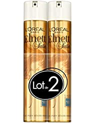 L'Oréal Paris Elnett Laque Coiffante Fixation Forte 300 ml - Lot de 2