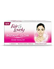 Fair & Lovely Instant Glow Home Facial Kit, 5 Pieces