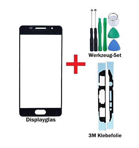 iTech Germany PREMIUM Vetro display kit di sostituzione per Samsung Galaxy A3 (2016) Nero - Touchscreen oleorepellente frontale per SM-A310F +