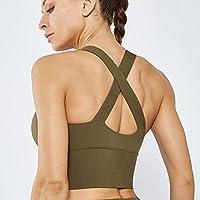Baycheey Yoga de la Mujer Desnuda Nueva Transpirable Ropa de Nylon Chaleco Transpirable de Secado rápido Correr Sujetador Deportes al Aire Libre Aptitud Profesional Superior del Chaleco Reunidos