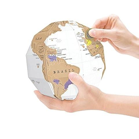 Eine Karte der Welt 3D-Karte DIY Globus vertikale Welt Welt reisen Karte, x3 cm x 29,5 21,5
