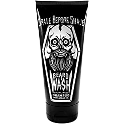GRAVE BEFORE SHAVE BEARD WASH SHAMPOO 6oz. Tube by Grave Before Shave