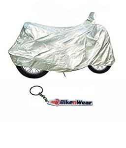 BikenWear BCRET500 Silver Customized Motorcycle Body Cover for Royal Enfield Thunderbird 500