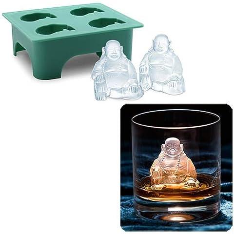 Laughing Buddha Stampo in silicone per cubetti di ghiaccio. - Laughing Buddha