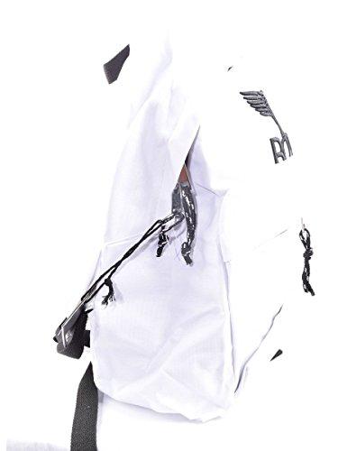 BOY LONDON zaino unisex con stampa BLA-17 BIANCO Bianco