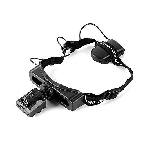 Loupe à main Freisprech-Kopfbandlupe Mit LED-Licht -5X Bis 28X Zoom Mit 3 Abnehmbaren Linsenkopf-Lupen Mit Leselampe, Schmucklupe, Uhr, Elektronische Reparatur Loupe pliante