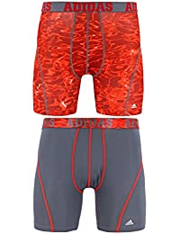 adidas Mens Sport Performance Climacool 2 Pack Boxer Brief Underwear