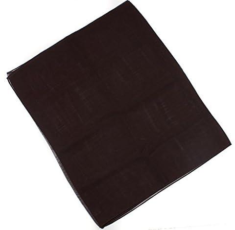 Mytoptrendz® Ladies Plain Black Chiffon Scarf Classic Plaid Lightweight Sheer Chiffon Feel Scarf (Black chiffon scarf