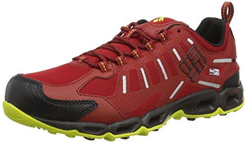 Columbia Ventfreak Outdry« , Chaussures de Randonnée Basses Homme Rouge (rocket/black 677)