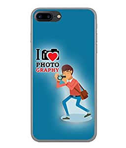 PrintVisa Designer Back Case Cover for Apple iPhone 7 (Love Lovely Attitude Men Man Manly)