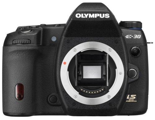 Olympus E-30 SLR-Digitalkamera (12 Megapixel, Live View, Bildstabilisator) Gehäuse (Digitale Slr-kamera, 3200)