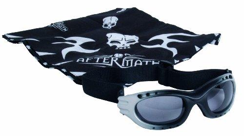 GSG Aftermath Schutzbrille - Gafas de protección para airsoft, color gris
