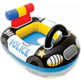 ROYALS INTEX Pool Cruiser Inflatable Boat Float For Kids And Children (Police Car)