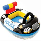 #10: ROYALS INTEX Pool Cruiser Inflatable Boat Float for Kids and Children (Police Car)