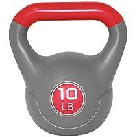 Werk It! Two Tone Kettlebell, 5 lb, Red