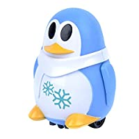 Lalaoo Inductive Robot,Penguin Model Educational Toy Pen Inductive Toy Follow Any Drawn Line for Children Kids Follow Any Drawn Line Magic Pen