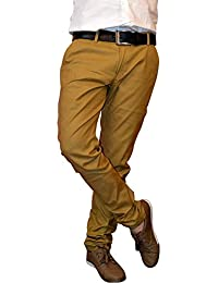 Mark 8 Mens Cotton Casual Slim Fit Trouser