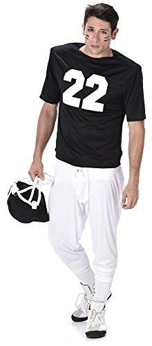 Herren Sport USA Superbowl Erwachsene Kostüm Neu (XL 46 -48
