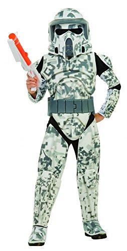 Star Wars Deluxe Arf Trooper Kostüm für Kinder, Größe:S