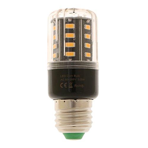F Fityle E27 LED Mais Glühbirne Nicht dimmbar - 3.5W_Warmweiß (Alle Mais-chips Natürlichen)