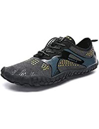 1306a2361bd94b IceUnicorn Water Shoes Mens Womens Quick Dry Sports Aqua Shoes Unisex Swim  Shoes with 14 Drainage