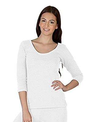 Selfcare Women's Thermal Top (White)