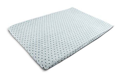 rt als Meterware |Muster: Punkte (anthrazit) auf grau|50cm x 160cm|92% Baumwolle, 8% Elasthan|Mehrere Farben zur Auswahl|Jersey|1buy3 (Nähen Muster Leggings)