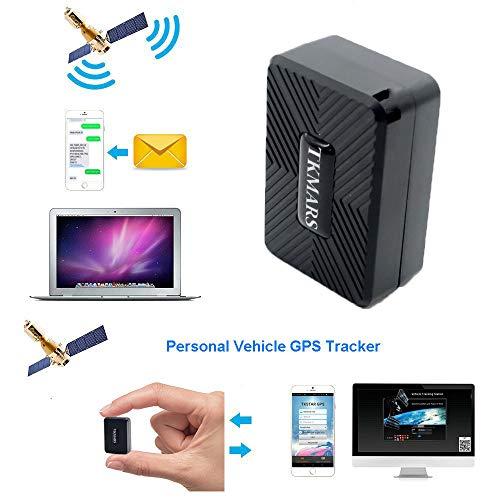 Mini GPS Tracker, TKMARS GPS GPS Tracker, wasserdicht, mit leistungsstarkem Magnet, für Kinder, Hunde, Geldbörse, Alarmanlagen, Schlüssel