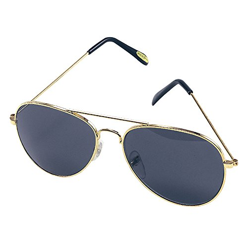 Low Cost 70s Pilot Aviator Sunglasses, Unisex Adult Size.