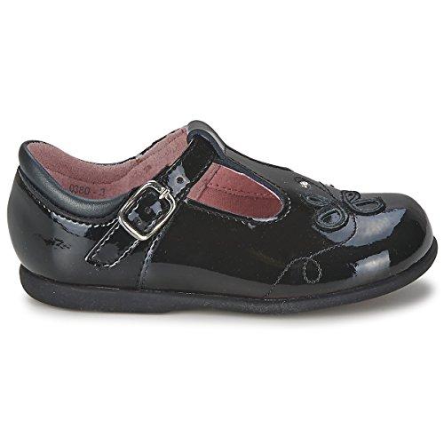 start-rite Girls Pixie brevetto primo scarpe F black patent