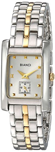 ROBERTO BIANCI WATCHES Women's 'Classico' Swiss Quartz Stainless Steel Casual Watch, Color:Two Tone (Model: RB18100)