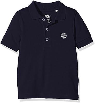 Timberland T25l46 Short Sleeve, Polo para Niñas