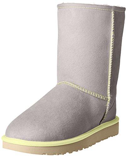 UGG Australia Damen Classic Short Neon Stiefel, Hellgrau, 38 EU