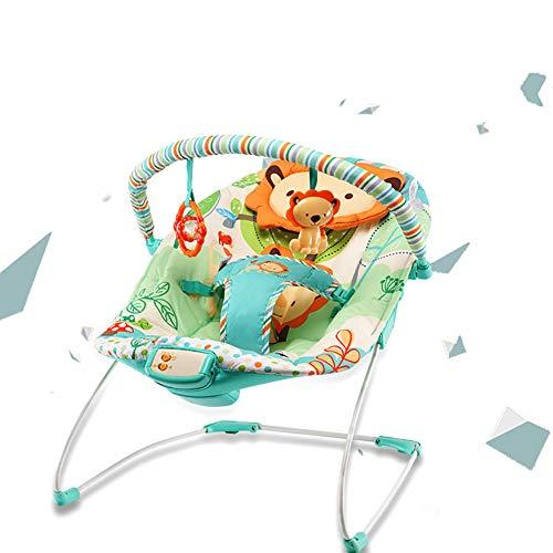 WDXIN Baby Balancín Eléctrica Sillón Apaciguar Niño Artefacto Multifuncional Bebe Silla Mecedora Cuna Bebe Coctelera.