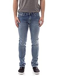 Calvin Klein - Jeans J30j304716 Slim Straight 920 Bleu