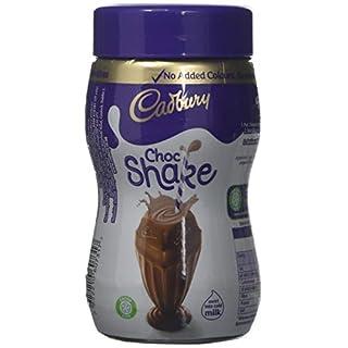 Cadbury Drinking Chocolate Milkshake Cocoa Powder Jar, 280 g, Pack of 6