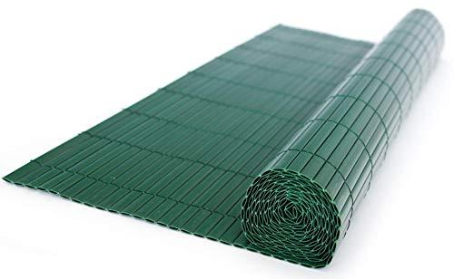 PEGANE Canisse en PVC, Coloris Vert - Dim : 200 x 200 cm