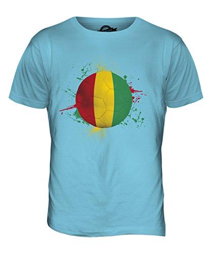 CandyMix Guinea Fußball Herren T Shirt Himmelblau