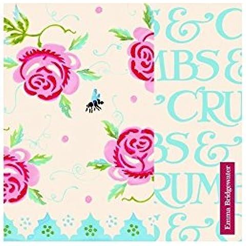 Emma Bridgewater–rosa y abeja servilletas de papel en 20unidades 33cm cuadrado