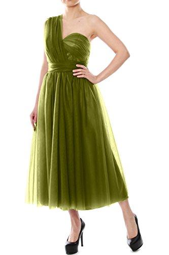 MACloth - Robe - Trapèze - Femme Vert - Vert olive