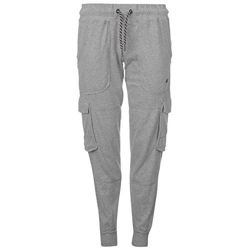 Soulcal Donna Cargo Pantaloni da Jogging Grigio Marl